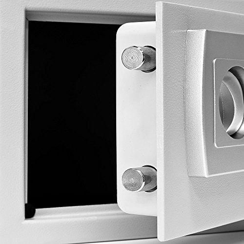 tresor safe mit elektronik zahlenschloss 32 x 24 x 22cm. Black Bedroom Furniture Sets. Home Design Ideas
