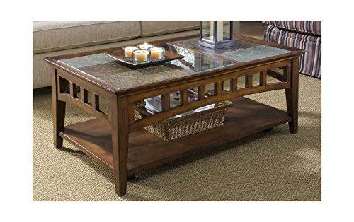 (Riverside Furniture 212673-OG-71632-O-287502 Andorra Rectangular Coffee Table)