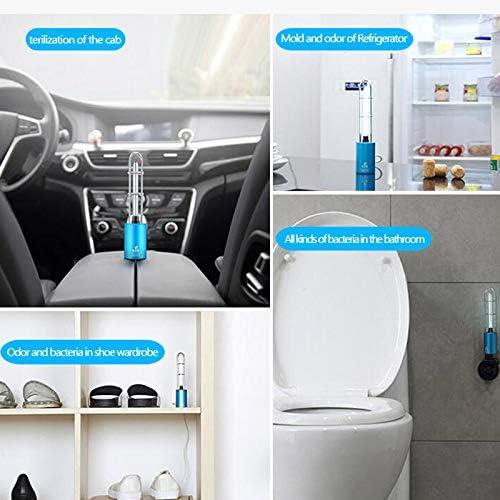 Liamostee Tragbarer UV-Desinfektionslicht USB-Port UV-Sterilisator f/ür Auto