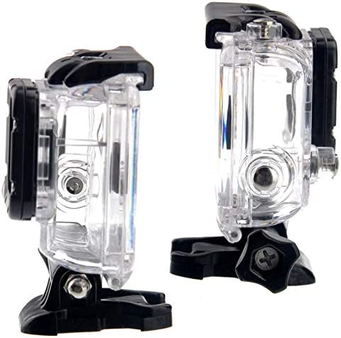 Open Side for FPV Without Cable Hsifeng Hesifeng Hsifeng ST-30 Skeleton Protective Housing Without Lens for GoPro HERO3