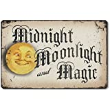 Fairy Freckles Studios Item 10013 Vintage Style Halloween Moonlight Plaque