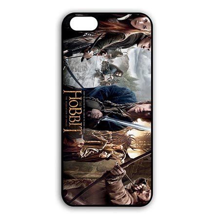Design Black Case Cover for iPhone 6 PLUS - iPhone 6S PLUS(5.5 Inch Screen) -the Hobbit Carring - Mobile Levis Phone