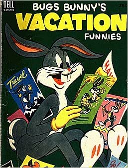 Bugs Bunnys Vacation Funnies 1951 Series 3 Dell Publishing