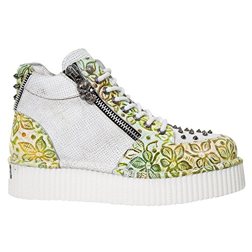 Size Leather Crp002 M Neo S22 Men Neo Creeper New 40 Women Rock Green Creeper Neo Onq1OgA