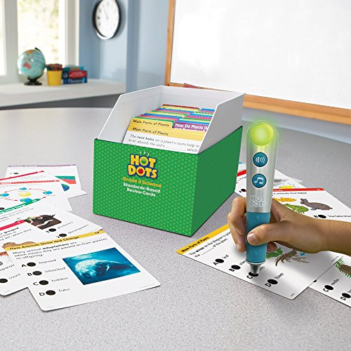 Educational Insights Hot Dots Science Standards-Based Review Cards - Grade 3 Photo #6