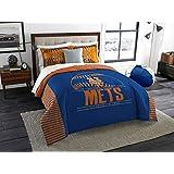 The Northwest Company MLB New York Mets King Comforter and Shams Set