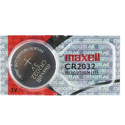 Price comparison product image Maxell CR2032 Lithium 3V Coin Cell Battery DL2032 KL2032