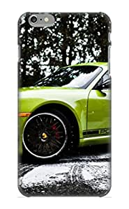Premium Protection 2012 Porsche Cayman R In The Snow Case Cover With Design For Iphone 6 Plus- Retail Packaging