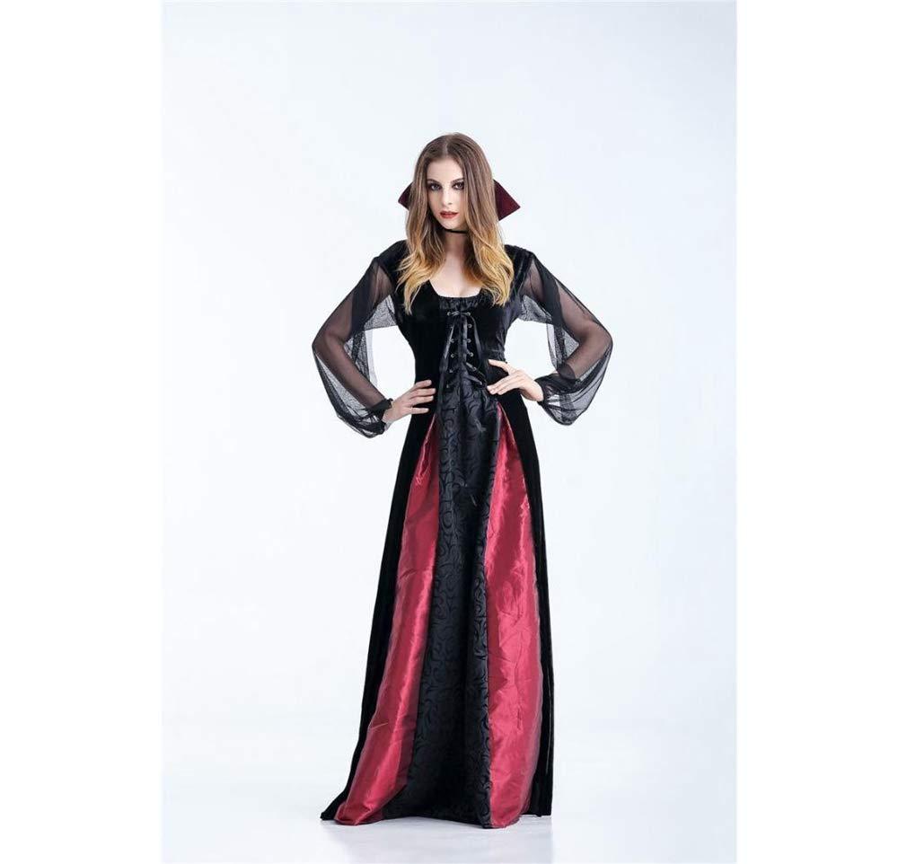 Shisky Cosplay kostüm Damen, Einheitliche Halloween Königin maxikleid Königin Halloween Rollenspiel Kostüm Kostüm d4853e