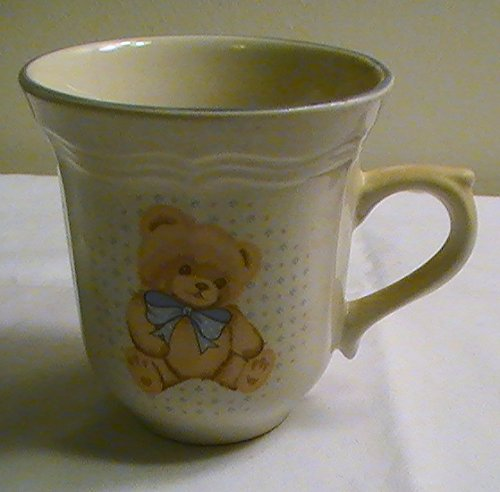 One Stoneware - Tienshan Country Bear Stoneware Cups -One Cup