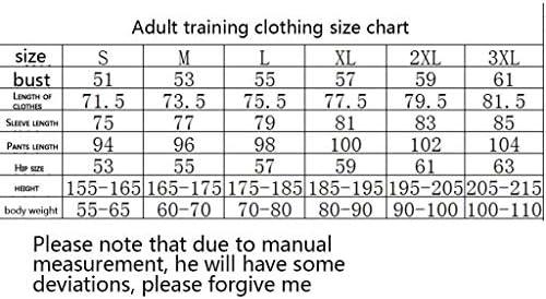 Dauerhaft Windjacke Herren Sportswear Langarm Voll Zipper Hoodys Gymnastikraum Oberteil und Hose FY0044 Beiläufig (Size : XL)
