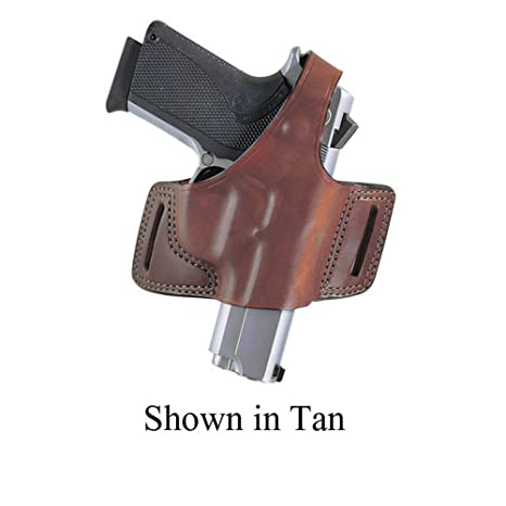 Bianchi 5 Black Widow Outside The Waistband Holster Ruger LCP Leather