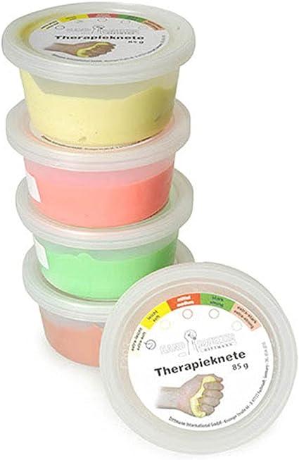 Dittmann Therapieknete Set 5 Stärken Therapie Physio Reha Knete Handtherapie