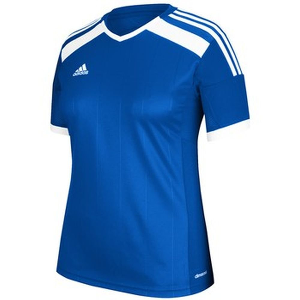Adidas Women 's Regista Soccer Jersey B00H5UOZ0O Medium|Cobalt-white Cobalt-white Medium