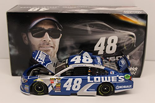 Lionel Racing C485821LOJJ Jimmie Johnson #48 Lowe's 2015 Chevy SS 1:24 Scale ARC HOTO Official NASCAR Diecast Car by Lionel Racing