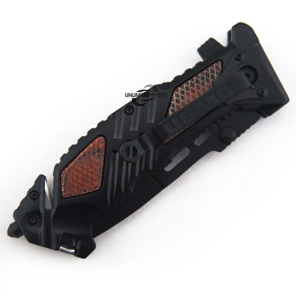 Marines Iron Mike Folding Knife (5.25-Inch Closed) by Marines (Image #6)
