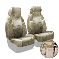 Coverking-Custom-Fit-Front-5050-Bucket-Tactical-Seat-Cover-for-Select-Nissan-Titan-Models-CorduraBallistic-A-TACS-Camo-AridUrban