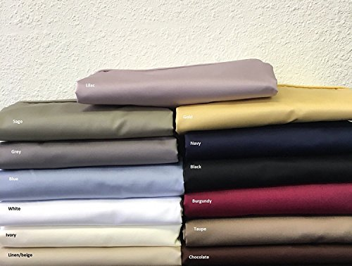 600 Thread Count Split King Size Solid Grey Sheet Set 100 %