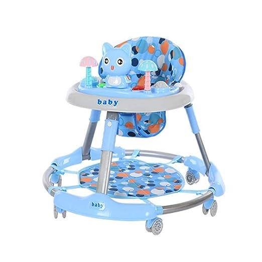 JINGMEI Andador para Bebés Andador Multifuncional para Sentarse Y ...