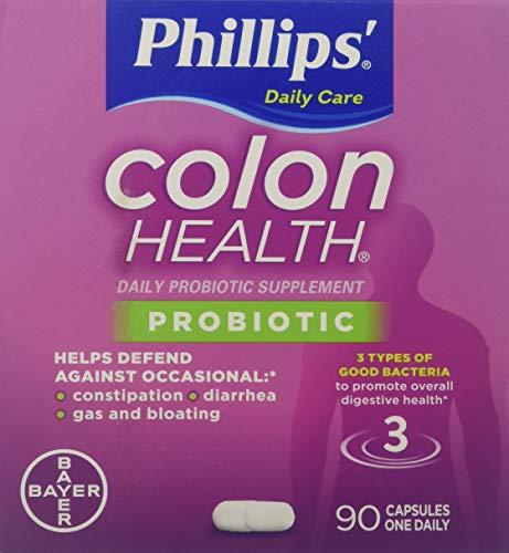 Phillips Colon Health Probiotic Supplement 90 - Capsules Daily 90