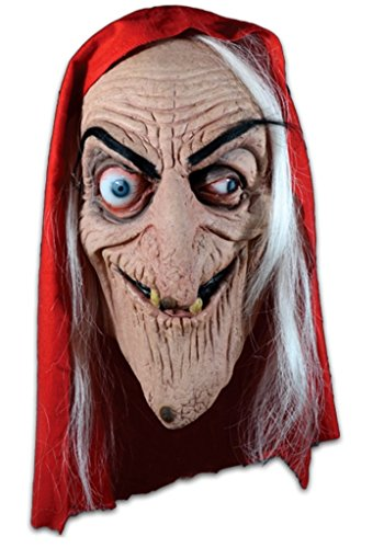- EC Comics Tales From The Crypt Old Witch Adult Latex Mask Licensed Deluxe New