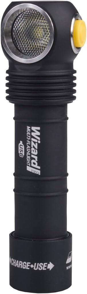 Armytek Wizard Pro USB xhp50/ /Lampe Frontale LED avec Batterie de ION au Lithium et Fonction de Charge USB