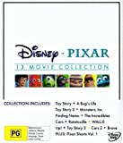 Disney Pixar Collection - 16-DVD Box Set ( Toy Story / A Bug's Life / Toy Story 2 / Monsters, Inc. / Finding Nemo / The Incredibles / Cars / Ratatou [ NON-USA FORMAT, PAL, Reg.2.4 Import - Australia ]