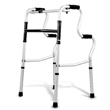 BZEI-WALKERS Andador Plegable Compacto, andadores estándar para ...