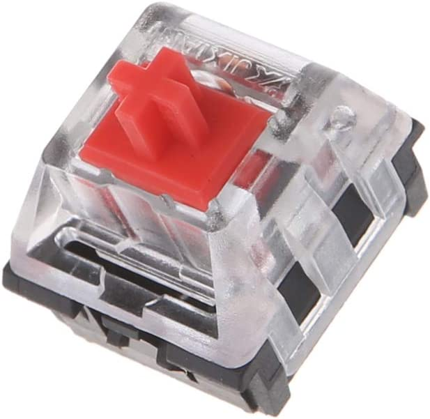 mengersty 10Pcs 3 Pin Mechanical Keyboard Switch RED for Cherry MX Keyboard Tester Kit