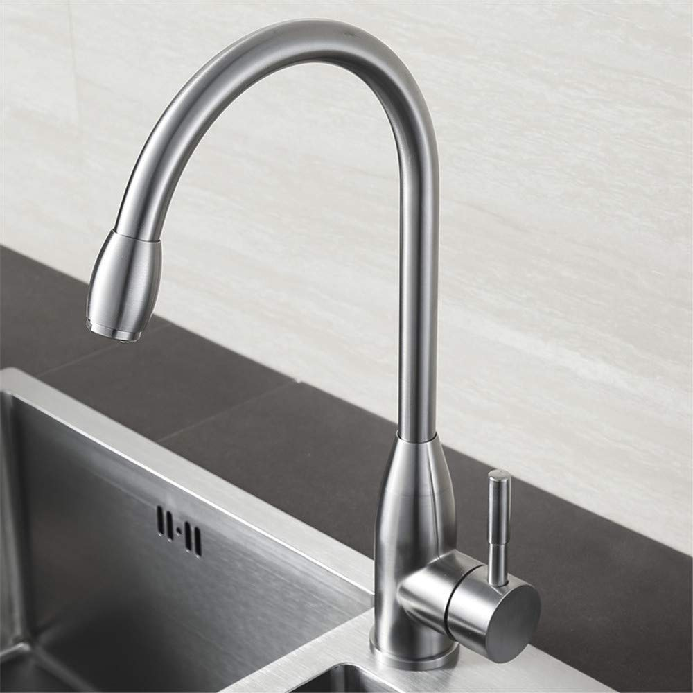 Decorry Kitchen Mixer 304 Stainless Steel Vegetables Basin Sink Faucet Taps redatably Lead