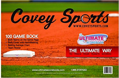 Covey Sports Baseball/Softball Side by Side Scorebook (100 ()