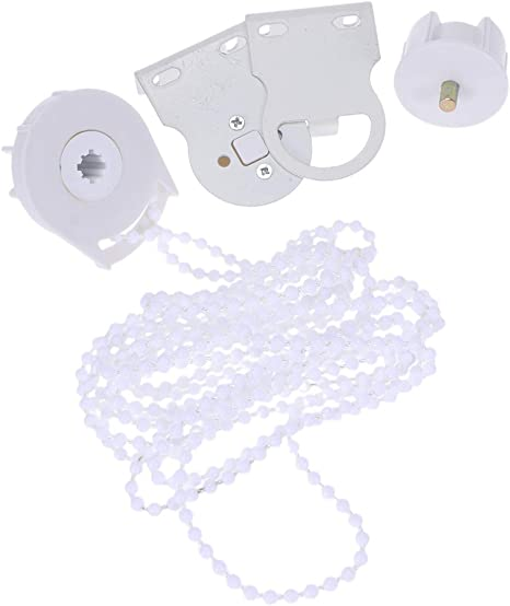 Side Pulley Chain Repair Fitting Kit Universal Window Treatments Support Top,Side,Face Mount Yuehuam 25mm Roller Blind Shade Clutch Bracket