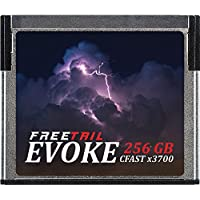 FreeTail EVOKE 3700x 256GB CFast 2.0 Memory Card, Up To 560MB/s, VPG-130 (FTCF256A37)