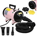 NEW Dog Cat Pet Grooming Hair Dryer Quick Blower Hairdryer Speed...
