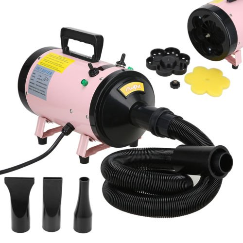Blower Dishwasher (NEW Dog Cat Pet Grooming Hair Dryer Quick Blower Hairdryer Speed Heater 2800W)