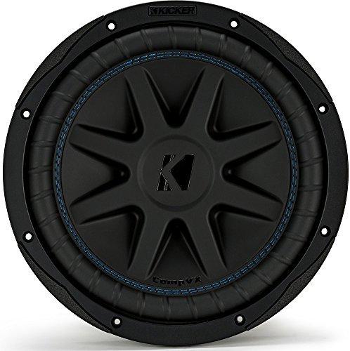 """Kicker CVX104 COMPVX 10"""" Subwoofer Dual Voice Coil 4-Ohm 600W"""