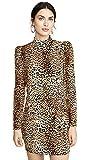 Generation Love Women's Adeline Leopard Dress, Leopard, Print, Tan, Small