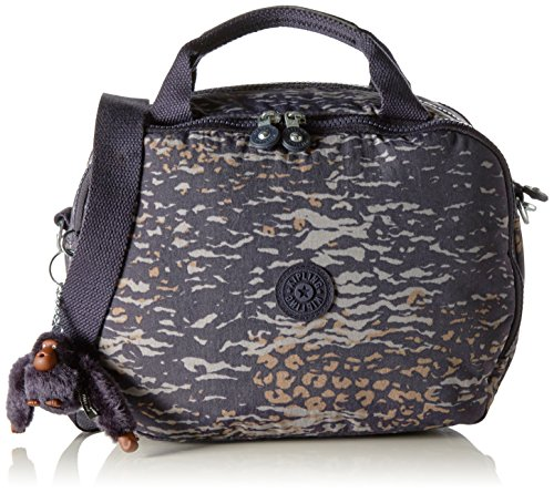 Blue Trolley True cm Blue With Kipling 23 Camo Sleeve Multicolour Palmbeach Beautycase Water Women qggp68