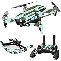MightySkins Skin for DJI Mavic Air Drone - Bombs Away | Max Combo Protective, Durable, and Unique Vinyl Decal wrap cover | Easy To Apply, Remove, and Change Styles | Made in the USA