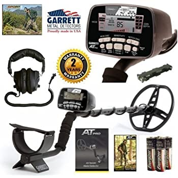 Garrett AT Pro Metal Detector All Terrain Land and Water Metal Detector
