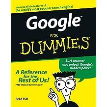 Google For Dummies