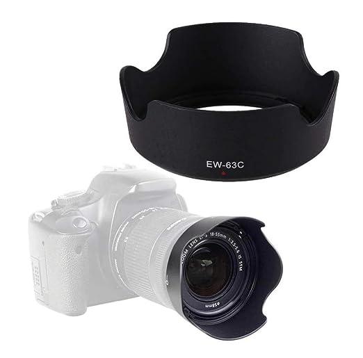 HAMISS EW-63C - Parasol para cámara réflex Digital Canon EOS Rebel ...