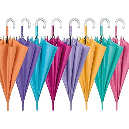 PERLETTI - Paraguas antiviento Colores lisos 61cm surtido