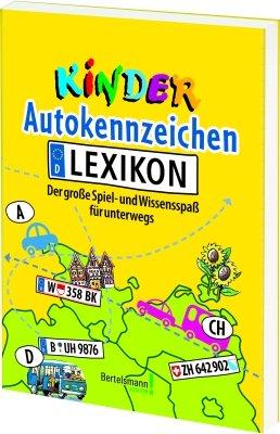 Kinder Autokennzeichen Lexikon