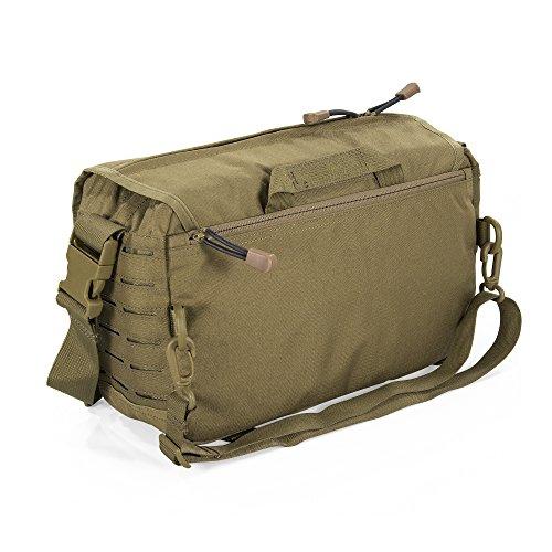 2e049efeba Amazon.com   Direct Action Small Messenger Tactical Bag Coyote Brown    Sports   Outdoors