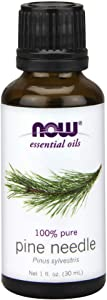 Now Essential Oils, Pine Needle Oil, Purifying Aromatherapy Scent, Steam Distilled, 100% Pure, Vegan, 1-Ounce