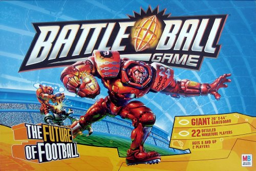 Milton Bradley Battleball Future Football product image