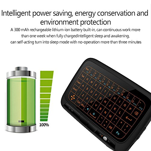 good Mini Keyboard,Super-VIP H18+ Wireless Touchpad Mouse Multiple