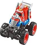 KAKATIMES Bounce Stunt Car Toys for 3,4,5,6 year old Boys, Assorted Construction Vehicles And Mini Truck Toy Play Set for Kids and Toddler.