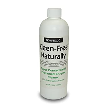 16oz Concentrate- Kleen Free Naturally, Natural, Non-Toxic, Enzyme Solution  and Multi-Purpose